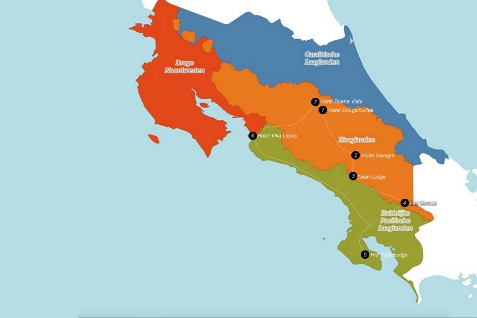 Costa Rica's Zuidelijke endemen