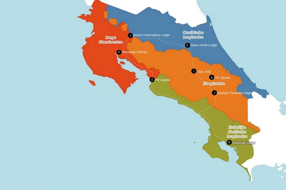Vogelreis Costa Rica januari 2020 met Starling Reizen