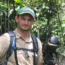 Pieter Westra, founder of Aratinga Tours